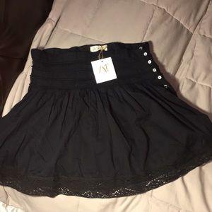 love shack fancy Skirts - Love Shack Fancy, black skirt, size 0, Brand New